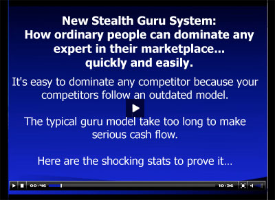"FREE Report: ""New Stealth Guru System"""